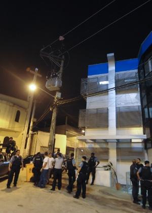 Policiais do Bope reforçaram a segurança do Complexo do Alemão, no Rio de Janeiro, após a PM ser morta