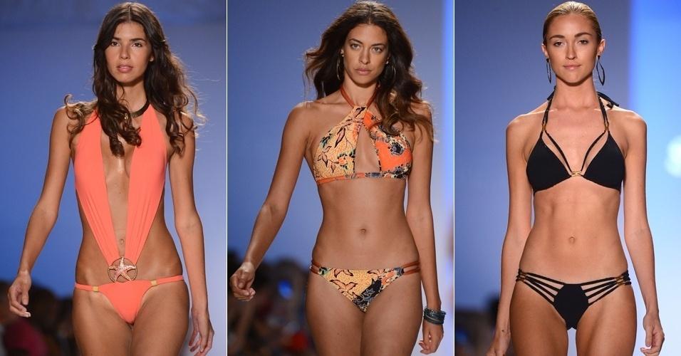 Looks da Sauvage para o Verão 2013 na semana de moda de Miami (23/07/2012)