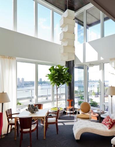 Apartamento decorado de mostra em Kips Bay, Nova York (Imagem do NYT, usar apenas no respectivo material)
