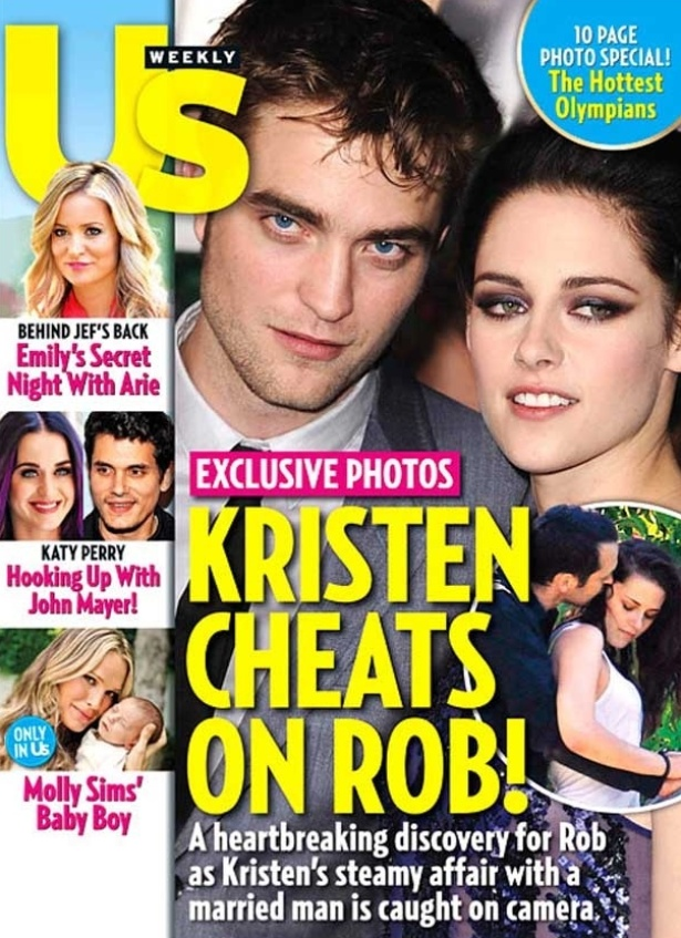Revista divulga foto de Kristen Stewart abra&#231;ada com diretor de &#34;Branca de Neve e o Ca&#231;ador&#34; (julho/2012)