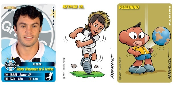 Figurinhas do &#225;lbum do Campeonato Brasileiro de 2012