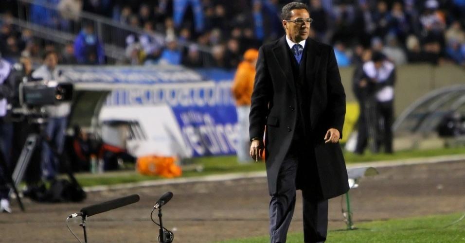 Vanderlei  Luxemburgo não quer priorizar competições no Grêmio