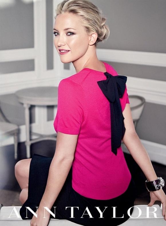 Kate Hudson em campanha da Ann Taylor para o Inverno 2012/13