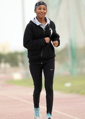 Noor Al Malki, dos 100 m, será uma das primeiras mulheres do Qatar em Jogos Olímpicos