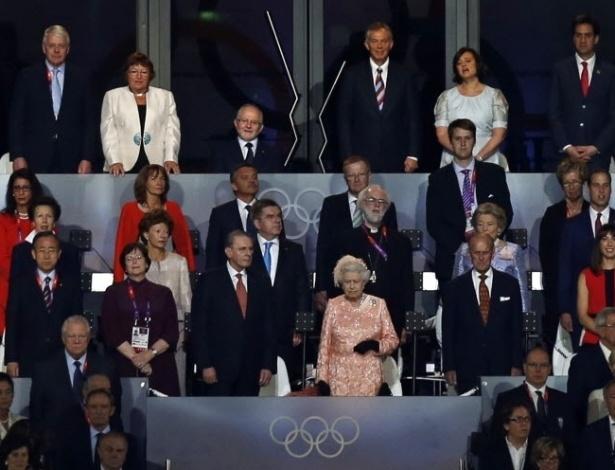 Rainha Elizabeth II acompanha cerimônia e abertura dos Jogos Olímpicos de LondresREUTERS/Damir Sagolj