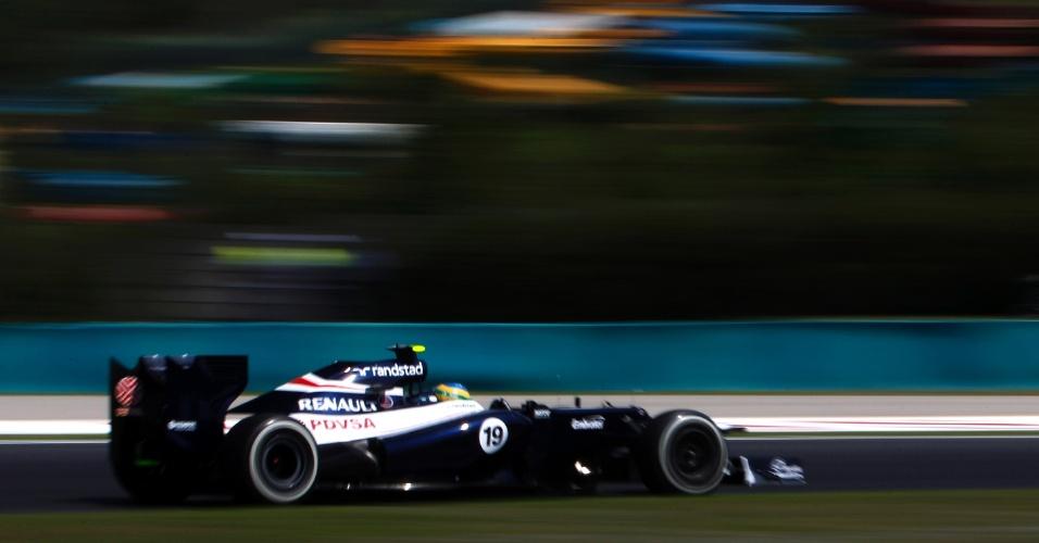 Bruno Senna avançou à segunda parte da classificação com o 10º tempo. Massa foi o 8º, e Hamilton liderou