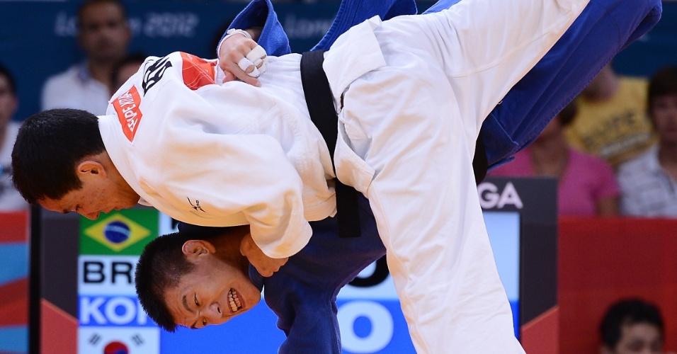 Felipe Kitadai venceu a repescagem contra o sul-coreano Gwang-Hyeon Choi e foi para a disputa da medalha de bronze