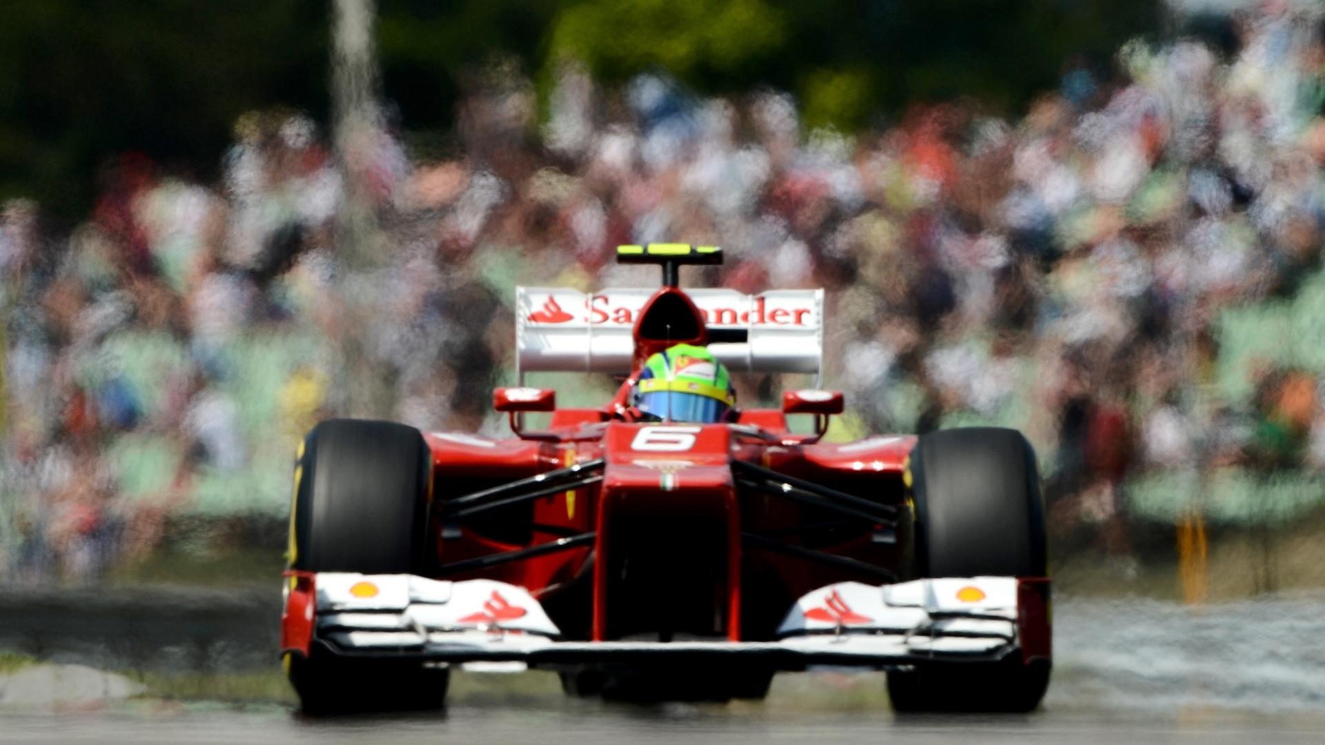 Felipe Massa ficou na 7ª colocação no GP da Hungria