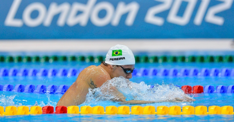 Nadador Thiago Pereira avan&#231;ou &#224; final dos 400 m medley com quarto melhor tempo (4min12s39), &#224; frente do norte-americano Michael Phelps