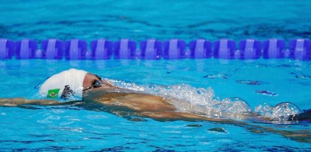 Nadador Thiago Pereira avançou à final dos 400 m medley com quarto melhor tempo (4min12s39), à frente do norte-americano Michael Phelps