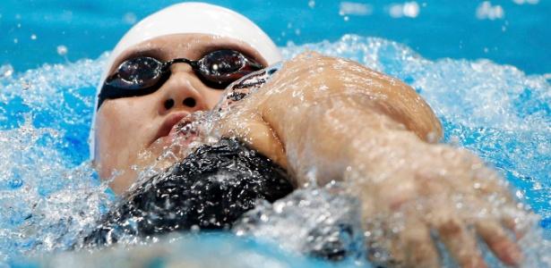 Chinesa Ye Shiwen levou mais um ouro em Londres; desta vez, nos 200 m medley