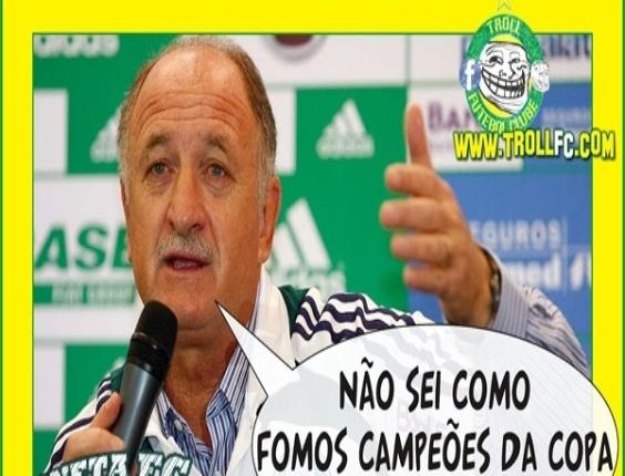 Corneta FC: Felipão admite que o time é fraco