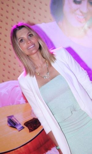 """Flávia Alessandra na pré-estreia de """"Katy Perry: Part of Me 3D"""" no Rio de Janeiro (30/7/12)"""