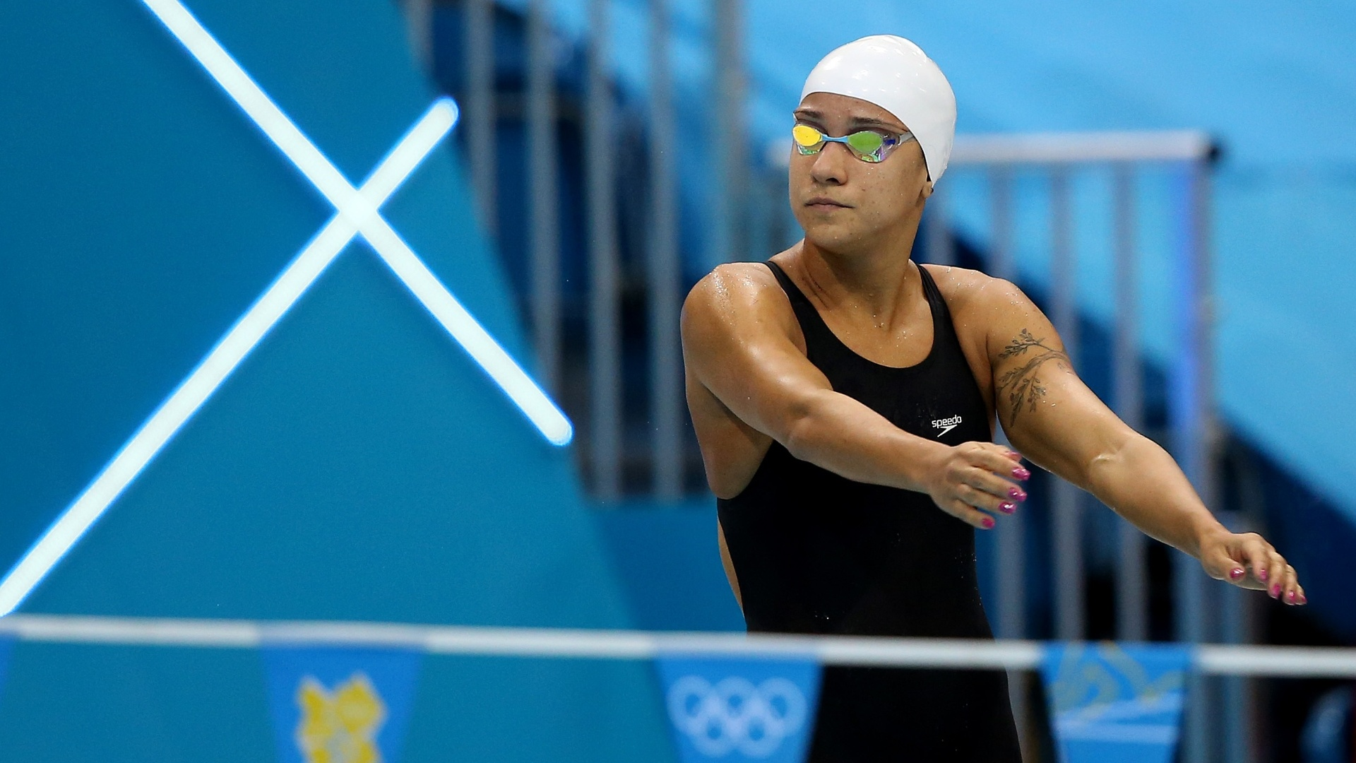 Joanna Maranho passou  semifinal dos 200 m medley com o 16 e ltimo tempo