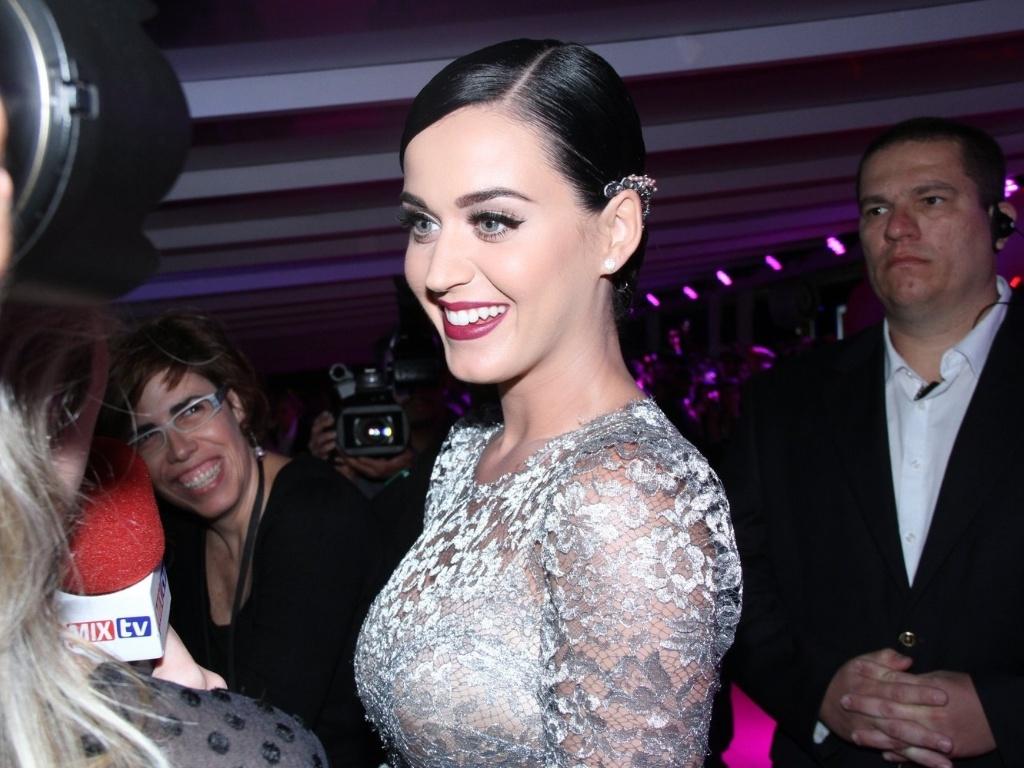 Katy Perry na pré-estreia de