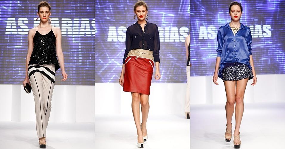 Look da As Marias para o Verão 2013 no Mega Polo Moda, em São Paulo (30/07/2012)