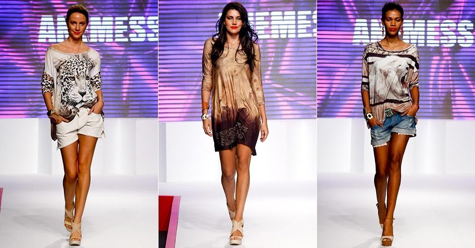 Looks da Anemess para o Verão 2013 no Mega Polo Moda, em São Paulo (30/07/2012)