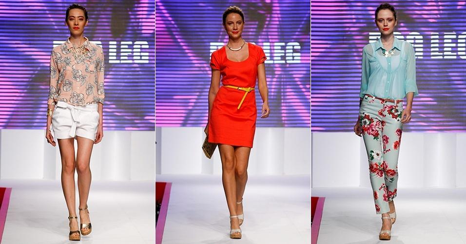 Looks da Dog Leg para o Verão 2013 no Mega Polo Moda, em São Paulo (30/07/2012)