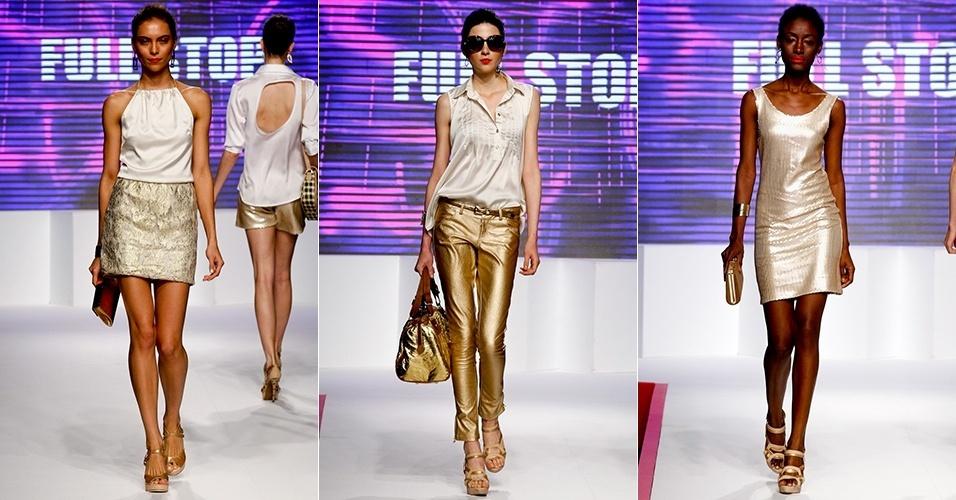 Looks da Full Stop para o Verão 2013 no Mega Polo Moda, em São Paulo (30/07/2012)