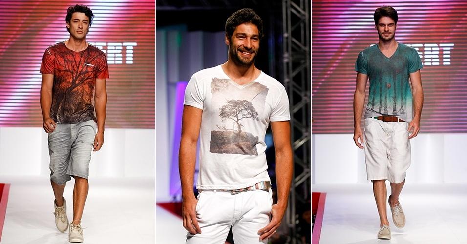 Looks da Invert para o Verão 2013 no Mega Polo Moda, em São Paulo (30/07/2012)