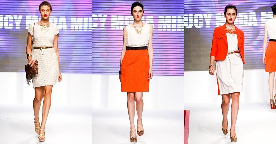 Looks da Jucy Moda Minas para o Verão 2013 no Mega Polo Moda, em São Paulo (30/07/2012)