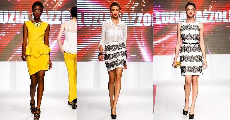 Looks da Luzia Mazzolli para o Verão 2013 no Mega Polo Moda, em São Paulo (30/07/2012)