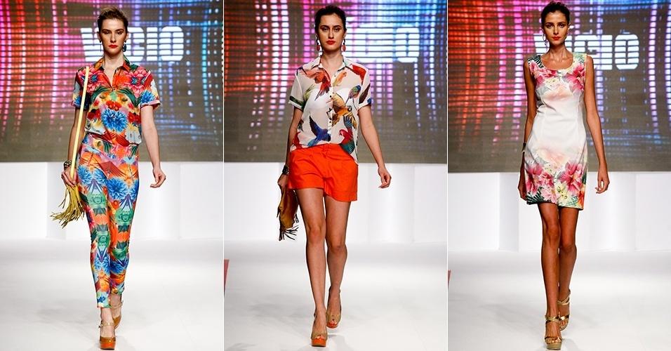 Looks da Vício para o Verão 2013 no Mega Polo Moda, em São Paulo (30/07/2012)