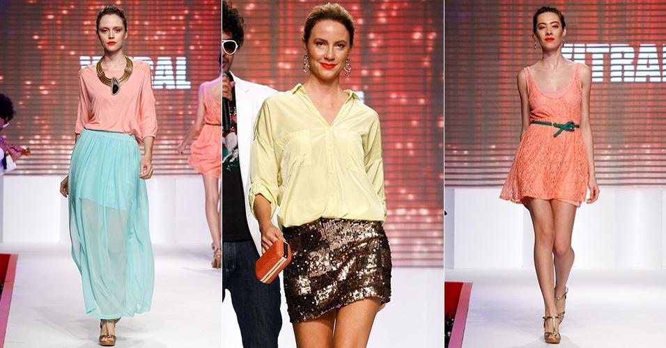 Looks da Vitral para o Verão 2013 no Mega Polo Moda, em São Paulo (30/07/2012)