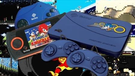 Hoje em dia, os consoles da Tectoy em nada se parecem com os modelos da Sega, mas ainda trazem os saudosos games dos anos 90