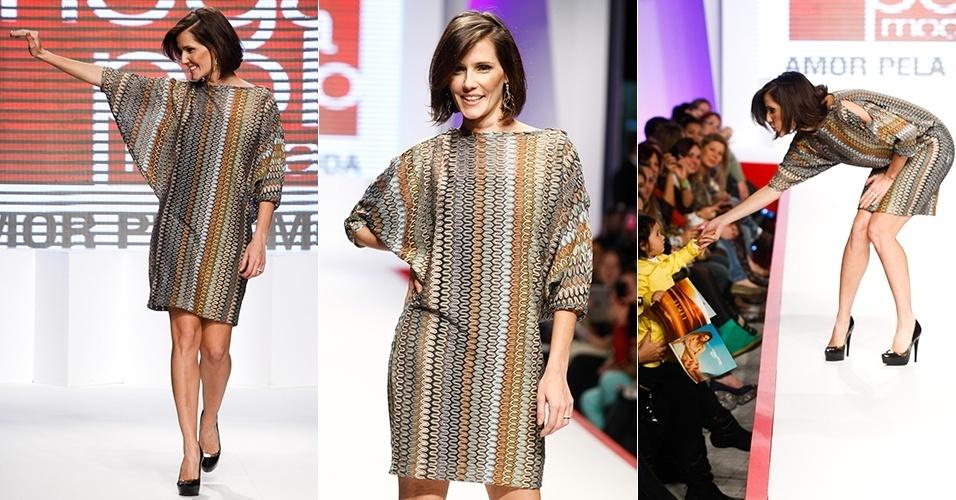 Deborah Secco em sua última aparição no Mega Polo Moda (310/7/2012)
