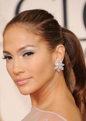 A cantora Jennifer Lopez, que anda com pouca paciência com o namorado Casper Smart