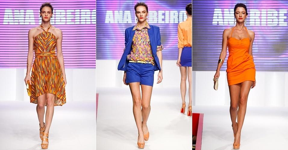 Looks da Ana Ribeiro para o Verão 2013 no Mega Polo Moda, em São Paulo (31/07/2012)