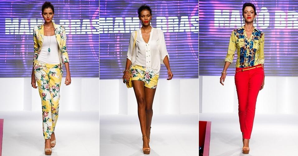 Looks da Mamô Brasil para o Verão 2013 no Mega Polo Moda, em São Paulo (31/07/2012)