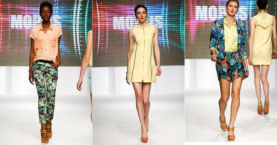 Looks da Mopus para o Verão 2013 no Mega Polo Moda, em São Paulo (31/07/2012)
