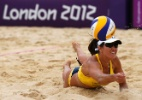 Jogadora reserva do vôlei de praia na Olimpíada é pega no antidoping - Lucy Nocholson/Reuters
