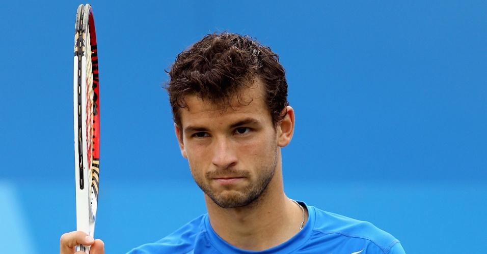 Tenista Grigor Dimitrov, da Bulgária