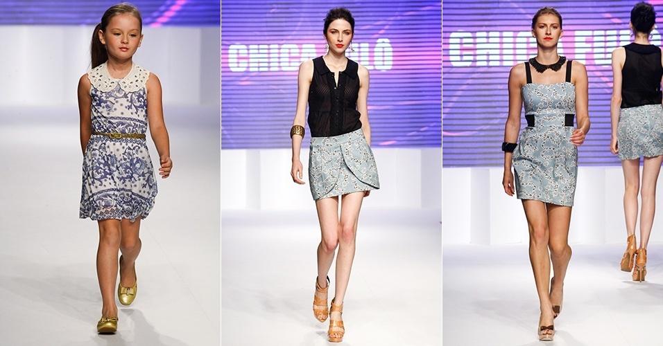 Looks da Chica Fulô para o Verão 2013 no Mega Polo Moda, em São Paulo (1º/08/2012)