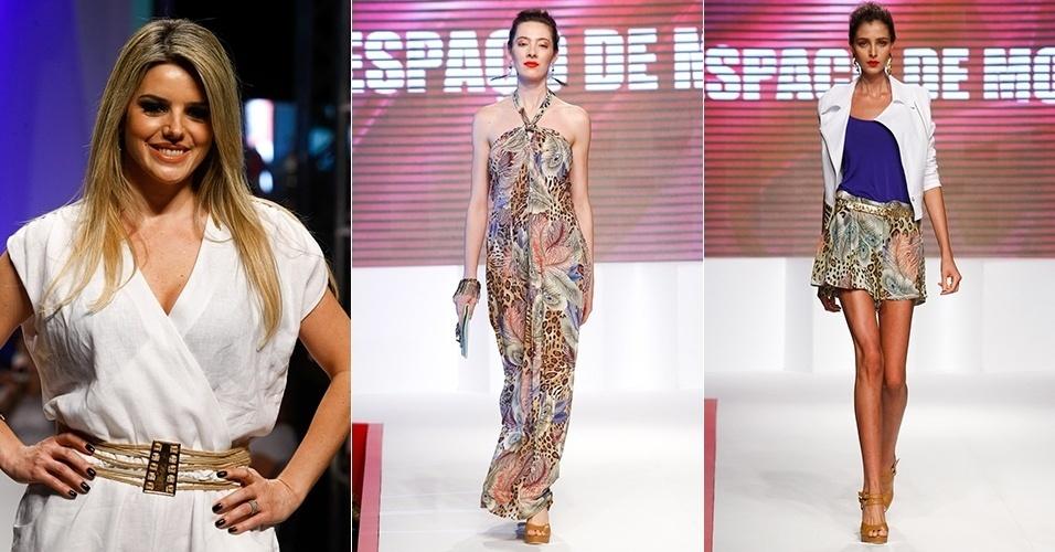 Looks da Espaço de Moda para o Verão 2013 no Mega Polo Moda, em São Paulo (1º/08/2012)