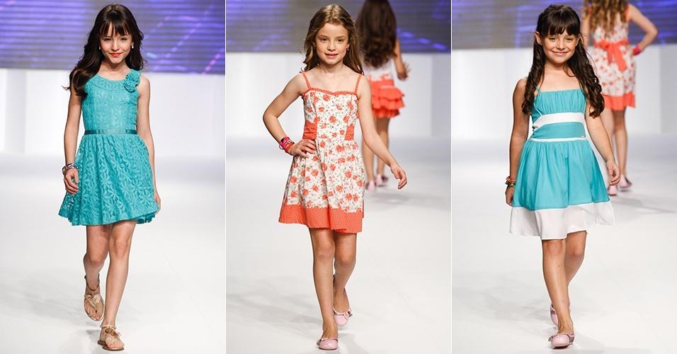 Looks da Fanyland para o Verão 2013 no Mega Polo Moda, em São Paulo (1º/08/2012)