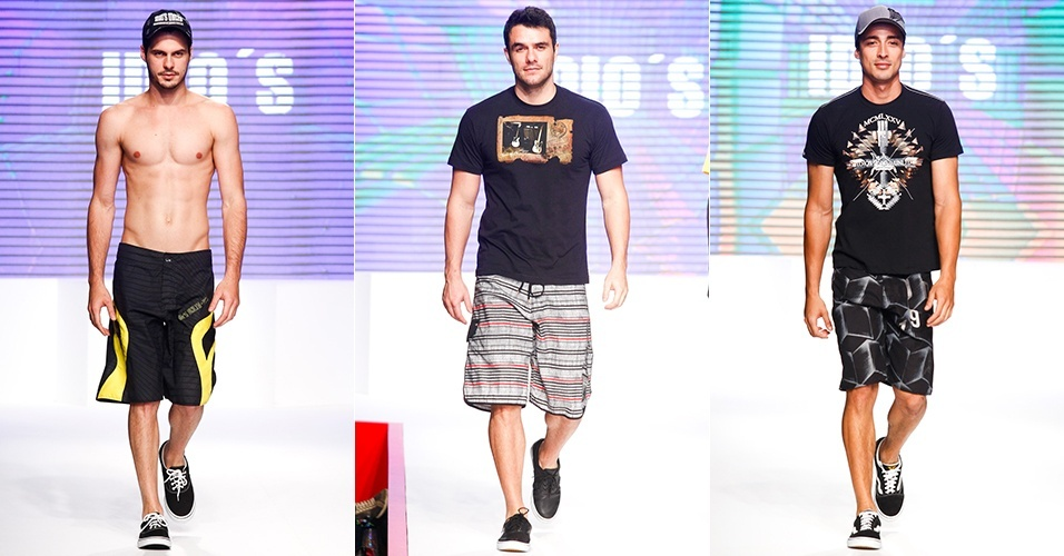 Looks da Idio's para o Verão 2013 no Mega Polo Moda, em São Paulo (1º/08/2012)
