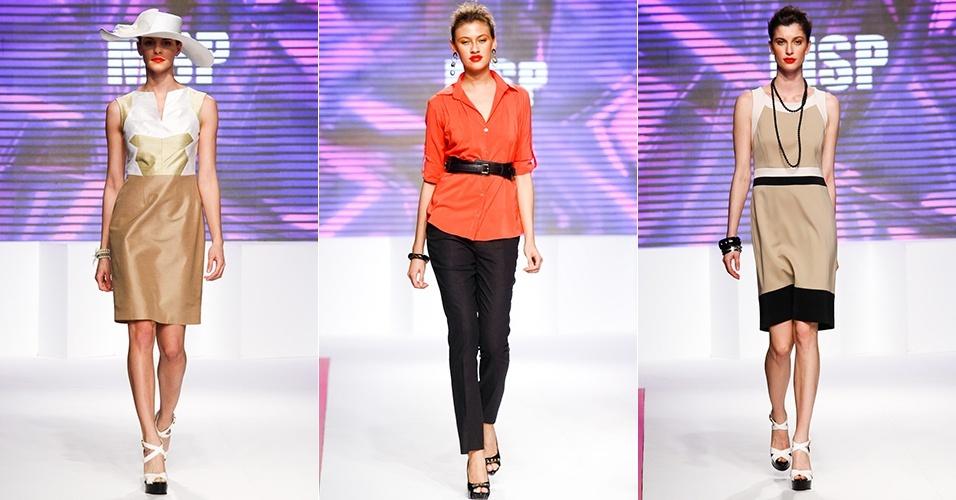 Looks da MSP para o Verão 2013 no Mega Polo Moda, em São Paulo (1º/08/2012)
