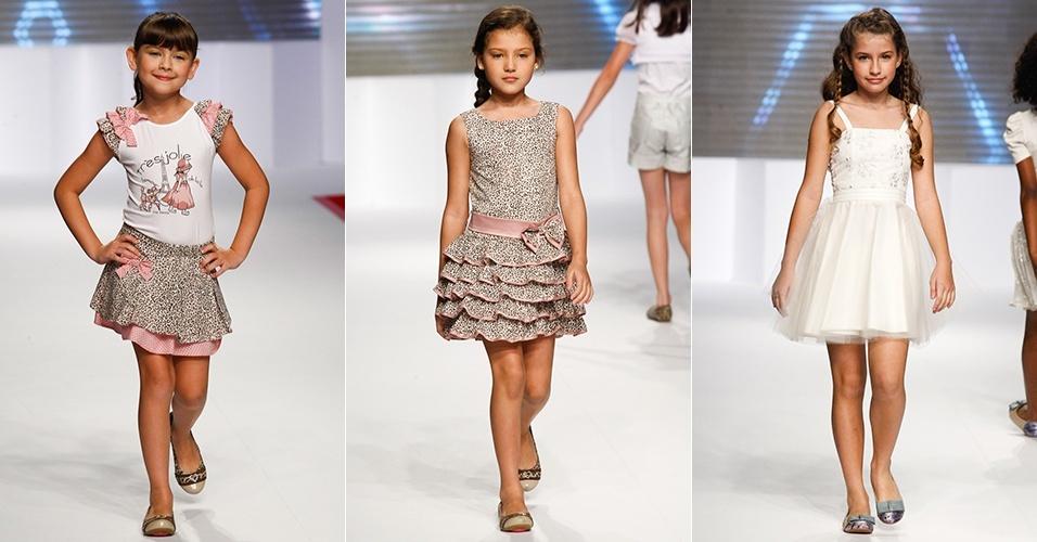 Looks da Nina Menina para o Verão 2013 no Mega Polo Moda, em São Paulo (1º/08/2012)