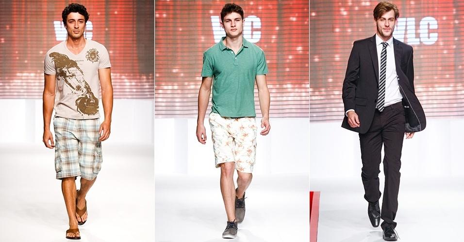 Looks da VLC para o Verão 2013 no Mega Polo Moda, em São Paulo (1º/08/2012)