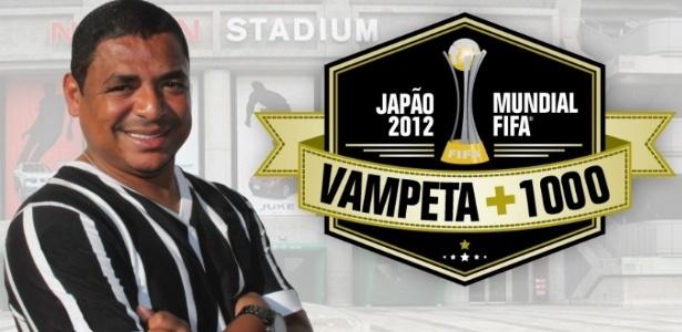 Vampeta estrela campanha de agência de viagem para o Japão