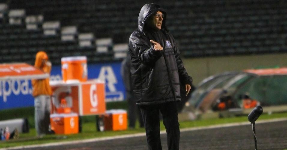 Vanderlei Luxemburgo quer que o Grêmio convide a torcida para dentro de campo