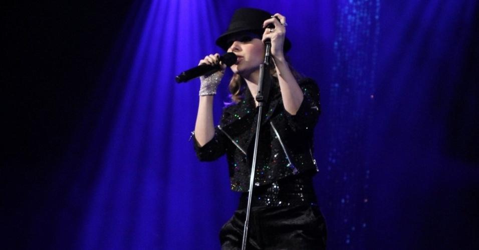 Entre as músicas de Michael Jackson no repertório do show de Sandy estão