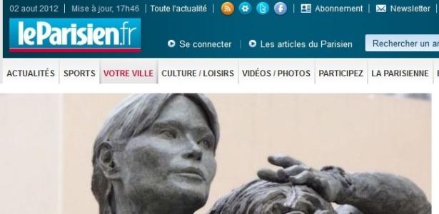 Estátua que retrata Carla Bruni como operária será instalada na cidade Nogent-sur-Marne