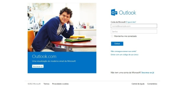 Outlook é a arma da Microsoft para concorrer com o Gmail