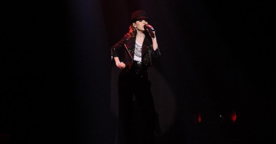 Sandy, que inclui músicas de Michael Jackson em seu show, encontrou o rei do pop em 1993 (2/8/12)