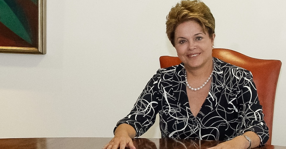 3.ago.2012 - Presidente Dilma Rousseff se encontra no Pal&#225;cio do Planalto, em Bras&#237;lia (DF), com o vice-presidente do Superior Tribunal de Justi&#231;a, o  ministro Felix Fischer